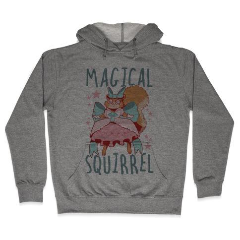 Magical Squirrel Hooded Sweatshirt
