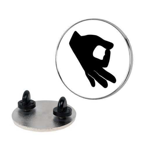 Finger Circle Game Pin
