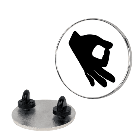 Finger Circle  pin