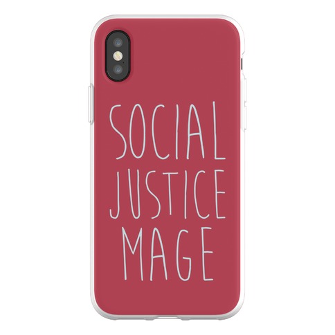 Social Justice Mage Phone Flexi-Case