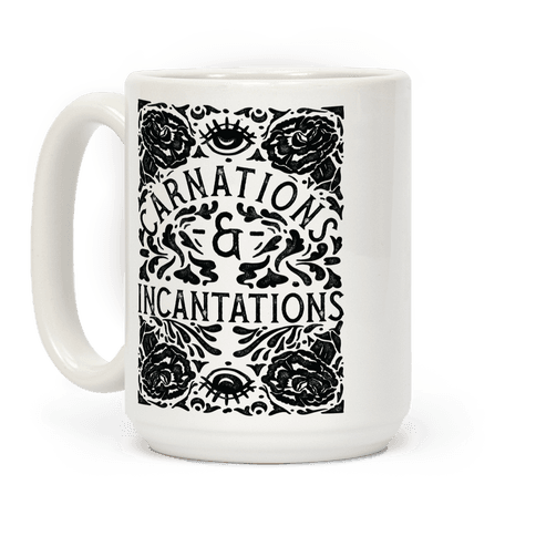 Carnations and Incantations Coffee Mug