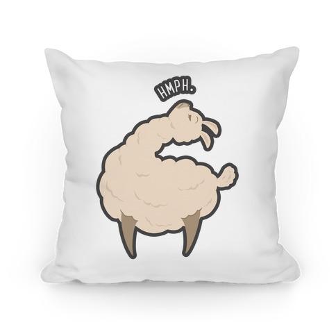 Petty Llama Pillow