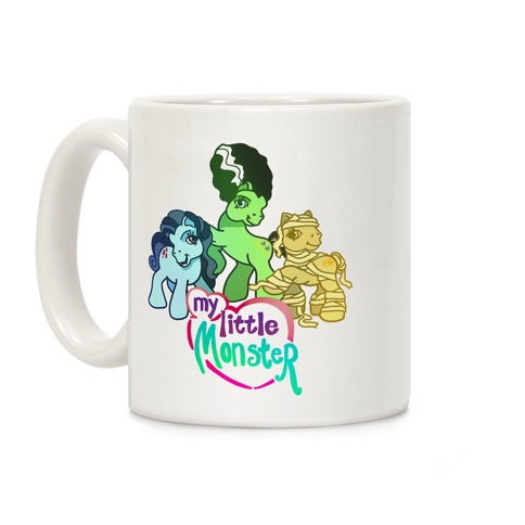 My Little Monster Pony Coffee Mug