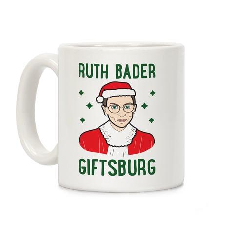 Ruth Bader Giftsburg Coffee Mug