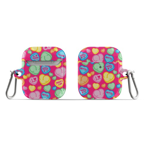 Candy Heart Butts AirPod Case