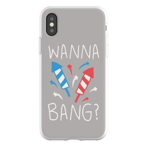 Wanna Bang Fireworks Phone Flexi-Case