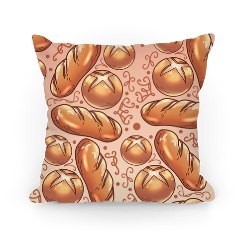 Bread Pattern Pillow