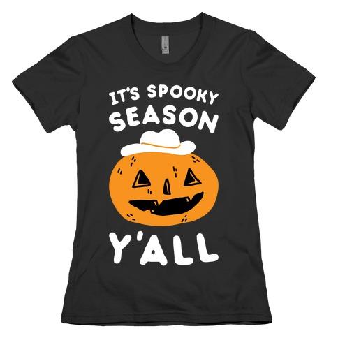 It's Spooky Season Y'all Womens T-Shirt