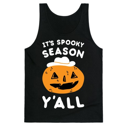 It's Spooky Season Y'all Tank Top