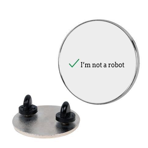I'm Not a Robot reCaptcha Pin