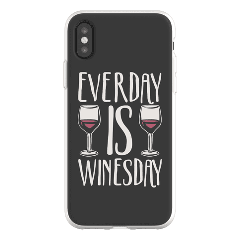 Everday Is Winesday Phone Flexi-Case