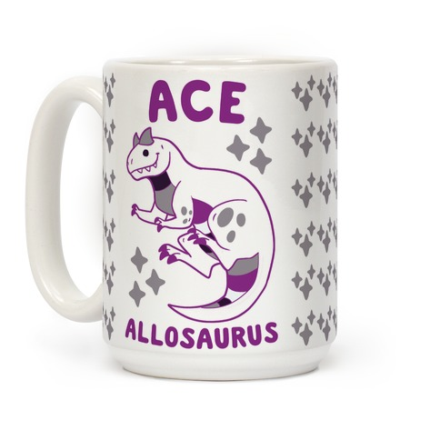 Ace Allosaurus Coffee Mug