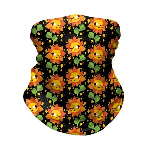 Winky Flower Pattern Neck Gaiter