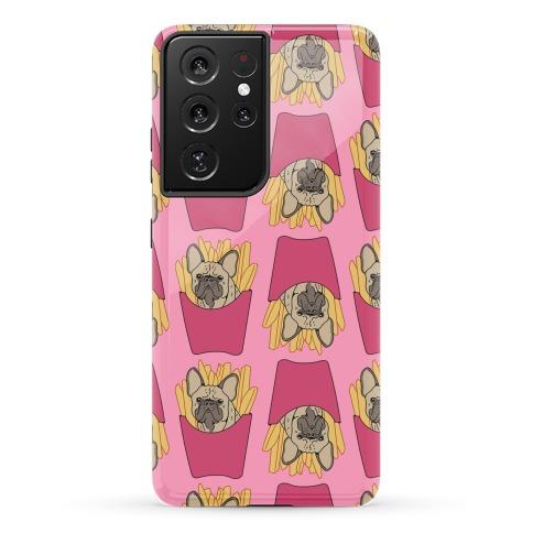 French Fry French Bulldog Pattern Phone Case