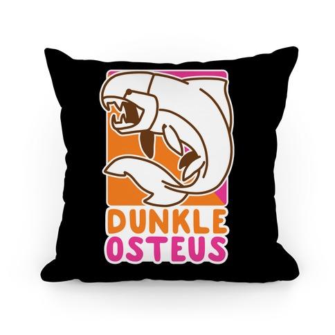 Dunkin' Dunkleosteus Pillow