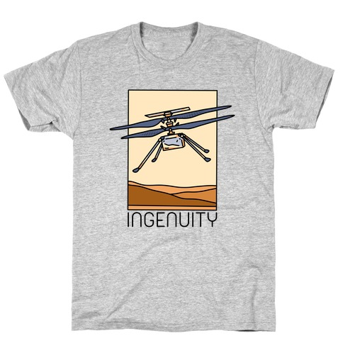 Ingenuity Mars Helicopter T-Shirt
