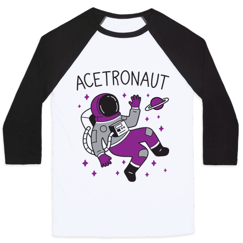 Acetronaut Baseball Tee