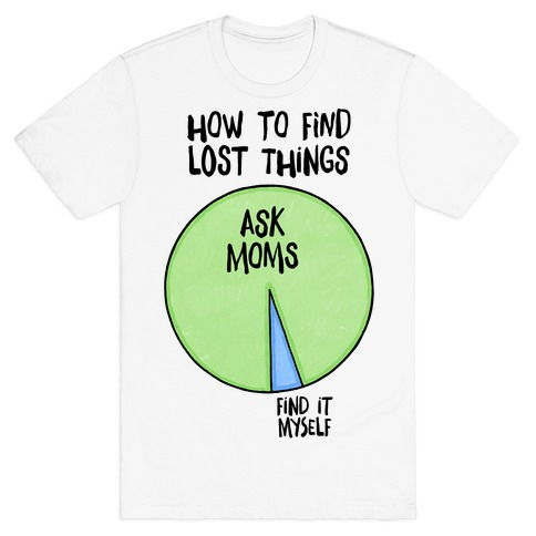How To Find Things: Ask Moms T-Shirt