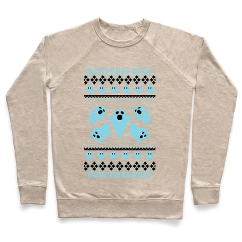 Spooky Ghosts Ugly Sweater Pullover