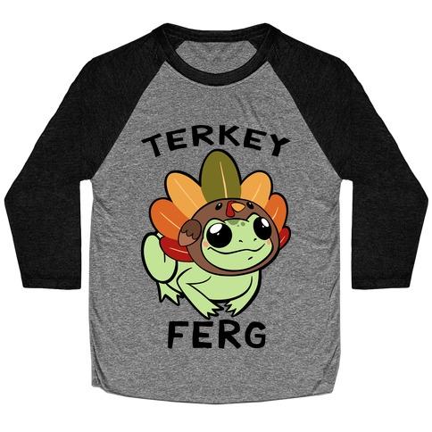 Terkey Ferg Baseball Tee