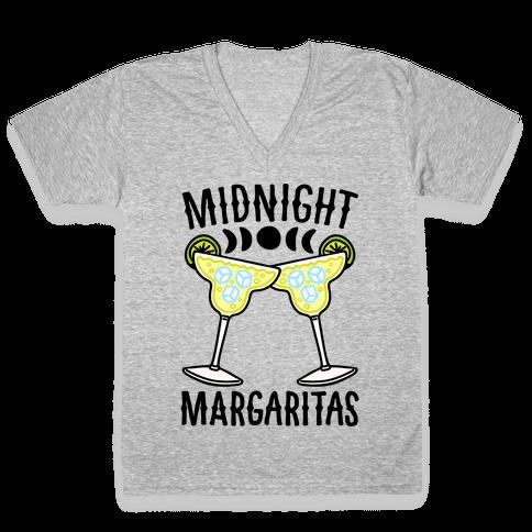 Midnight Margaritas V-Neck Tee Shirt