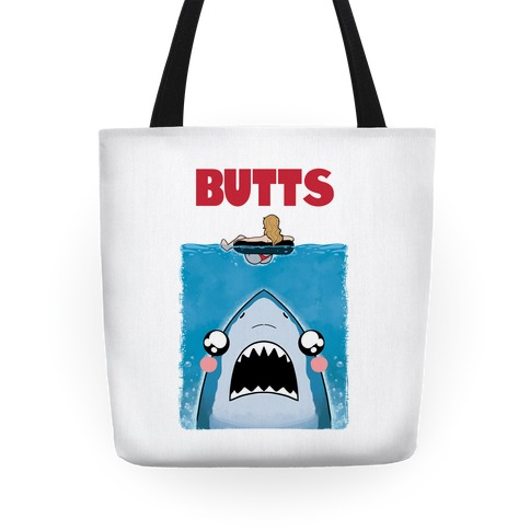 BUTTS Jaws Parody Tote