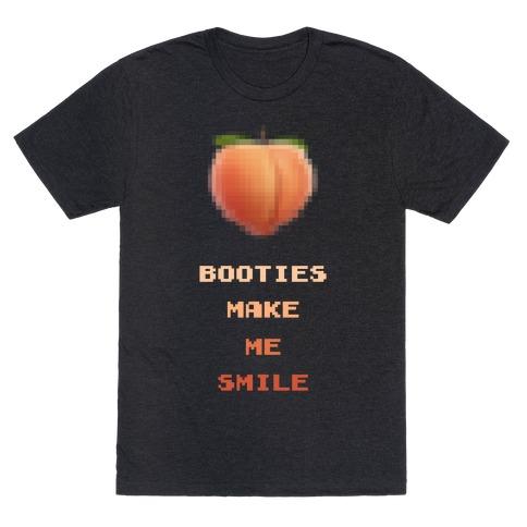 Booties Make Me Smile T-Shirt