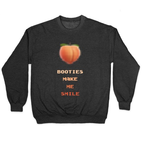 Booties Make Me Smile Pullover