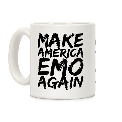 Make America Emo Again Coffee Mug