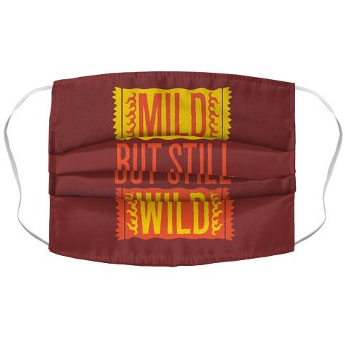 Mild But Still Wild Accordion Face Mask