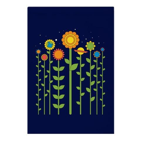 Plant Planets Garden Flag