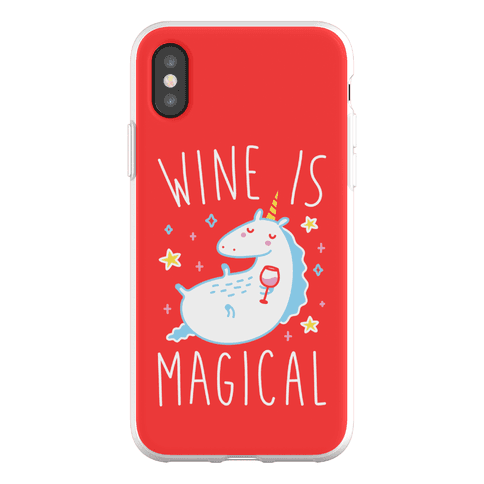 Wine Is Magical Phone Flexi-Case