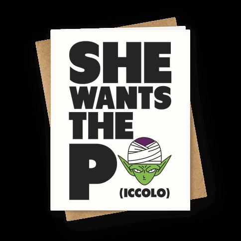 She Wants the Piccolo