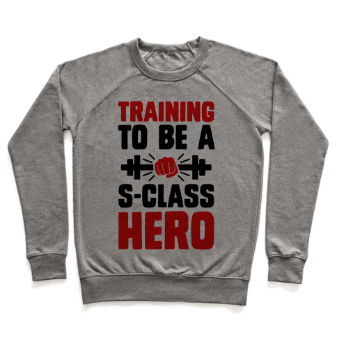 Training to be a S-Class Hero Pullover