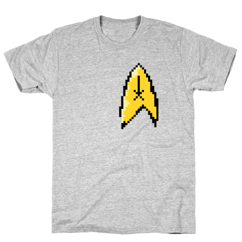 Star Trek 8-bit (Pocket) Mens T-Shirt