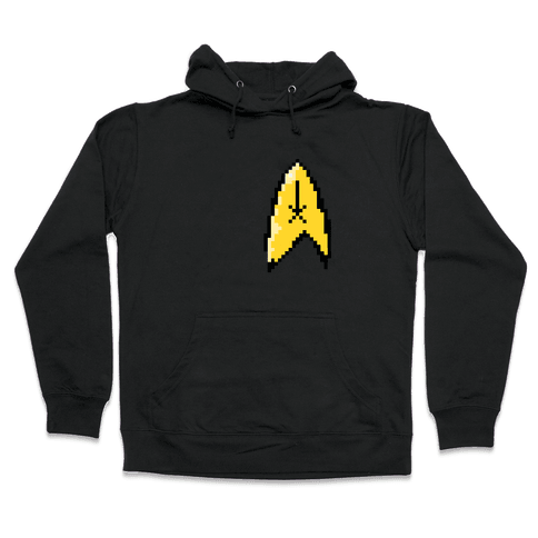 Star Trek 8-bit (Pocket) Hooded Sweatshirt