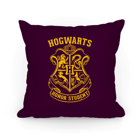 Hogwarts Honor Student Pillow