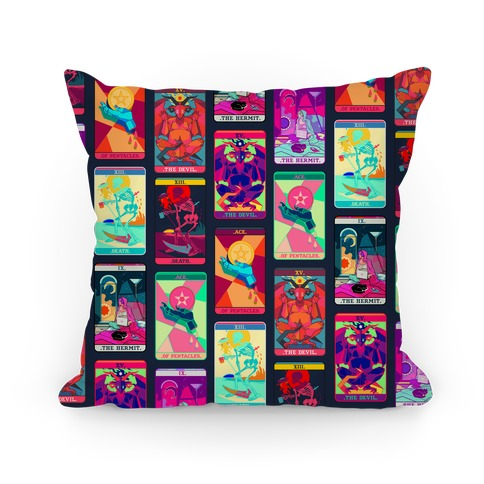 Tarot Card Pattern Pillow