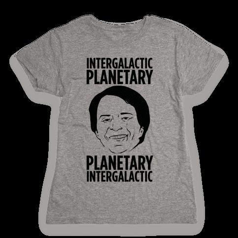 Intergalactic Sagan Womens T-Shirt