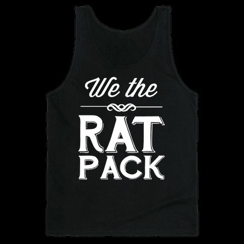 We The Rat Pack Tank Top