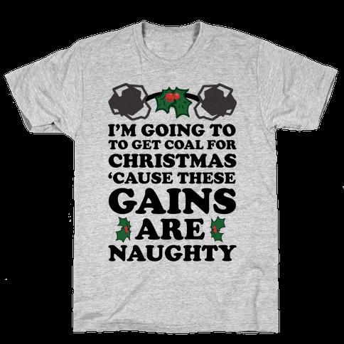 I'm Going to Get Coal for Christmas Mens T-Shirt