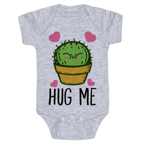 Hug Me - Cactus Baby Onesy