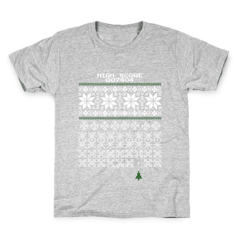 Christmas Invaders Kids T-Shirt