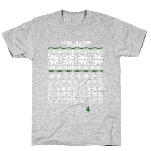 Christmas Invaders T-Shirt