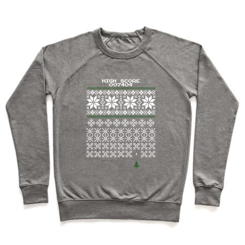 Christmas Invaders Pullover
