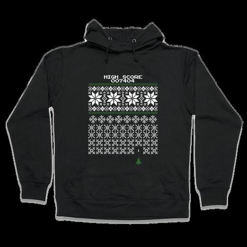 Christmas Invaders Hooded Sweatshirt