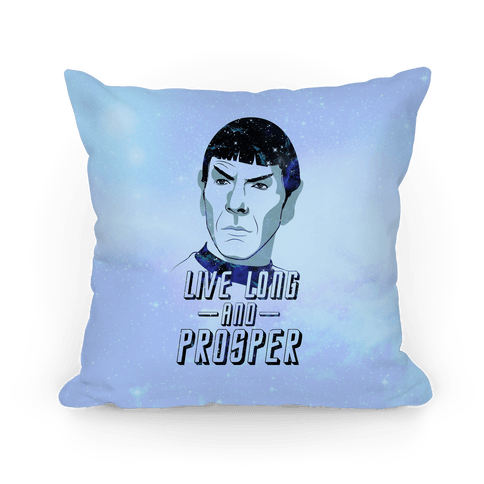 Live Long and Prosper Pillow