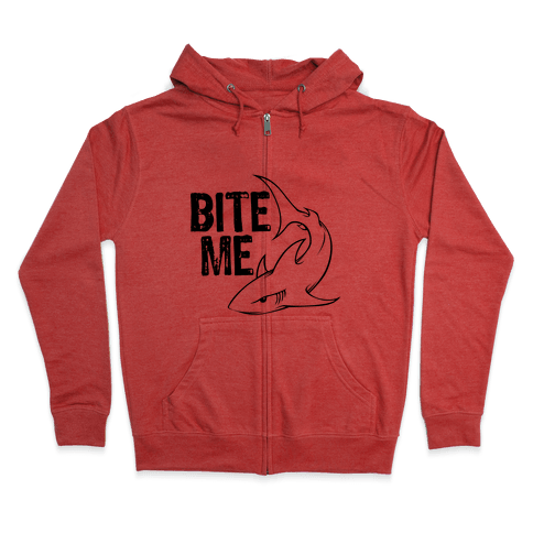 Bite Me Zip Hoodie