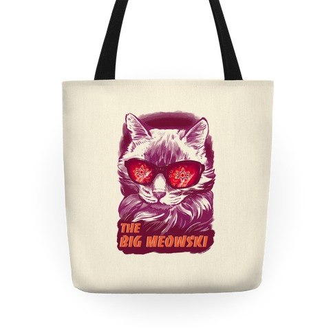 The Big Meowski Tote