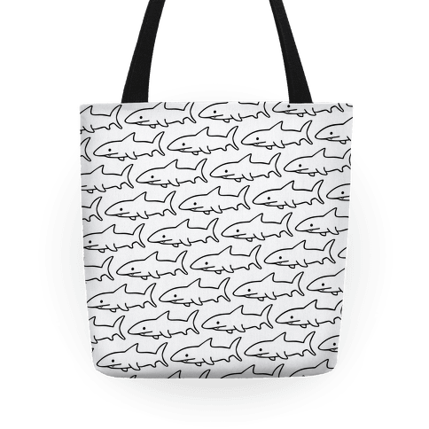 Shark Pattern Tote Tote